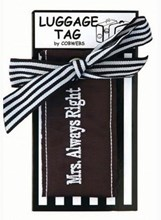 LUGGAGE TAG - MRS ALWAYS RIGHT