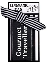 LUGGAGE TAG - GOURMET TRAVELLER