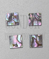 1pc Pink abalone blanks 10x10x1mm