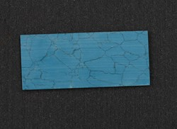 1pc Turquoise E08 reconstituted stone blanks 30 x 70 x 1.5mm