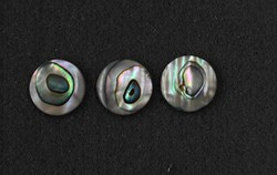 1pc Green ab finger button 14.22 x 2.3mm