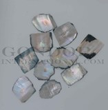1oz Black abalone blanks mix size 1mm