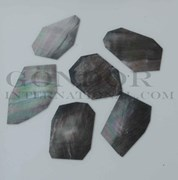1oz Black Mother of Pearl blanks mix size 1.5mm