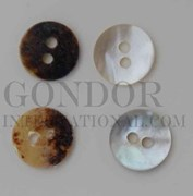 1pc Agoya buttons N 2H 16L
