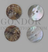 1pc Agoya buttons N 2H 28L