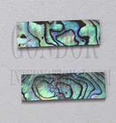 1pc Paua blanks 9.5x32x1mm