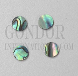 1pc Paua dots 10x1.3mm