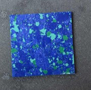 1pc Blue Dragon Skin CH2K1 reconstituted stone blanks 50x50x1.5mm