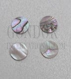 1pc Red abalone dots 9.52mm (3/8