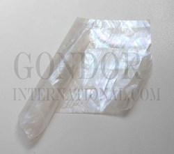 1pc White MOP flexible sheet 140x240x0.15mm