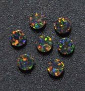 1pc Opal dots OP34 4x1.3mm