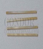 1pc Gold MOP strips straight 1.6x25x1.3mm