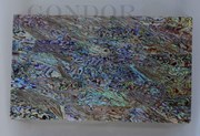 1pc Paua laminated sheets B 135x235x2mm