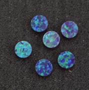 1pc Opal dots OP52 6 x 1.3mm