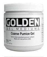 Coarse Pumice Flocking Gel
