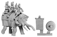 Indian Elephant General with 3 Crew