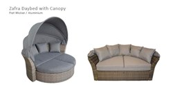 Zafra Canopy Daybed