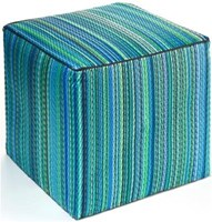 Cancun Aqua Cube - Outdoor Pouf
