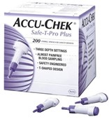 Accu-Chek Safe-T-Pro Plus Safety Lancets 23G