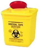 IDC 4L Sharps Container Square