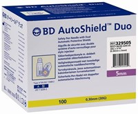 BD AutoShield Duo Safety Pen Needle 5mm 30G