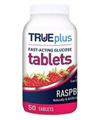 TRUEplus Raspberry Hypo Tablet 50pk