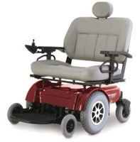 Wheelchair Electric Pride Jazzy 1650 High Back Seat
