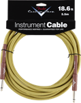 Fender Custom Shop Cable 18.6ft - SS Tweed