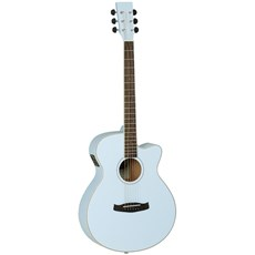 Tanglewood Discovery Super Folk Surf Blue C/A with Pickup