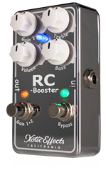 XOTIC RC BOOSTER Version 2 - 'Really Clean' Booster V2
