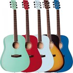 TANGLEWOOD DISCOVERY Dreadnaught - Muli. Colours