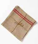 RUSTIC FRENCH STRIPE - Napkins