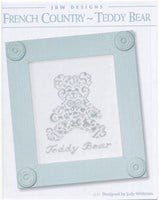 FRENCH COUNTRY – TEDDY BEAR:  JBW DESIGNS by JUDY WHITMAN