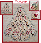 ADVENT - Filigram Cross Stitch
