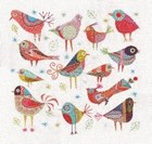 NANCY NICHOLSON CUSHION KIT - Bird Dance
