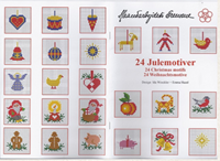 24 CHRISTMAS MOTIFS - Danish Handcrafts Guild
