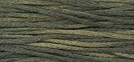 OverDyed Cotton - Weeks Dye Works 5 yard skein - Onyx #1304