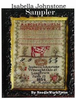 ISABELLA JOHNSTONE- An 1854 Sampler - Needlework Press
