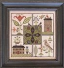 CENTER POINT SAMPLER - by The Scarlett House