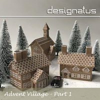 ADVENT VILLAGE Part One - Designatus Designs
