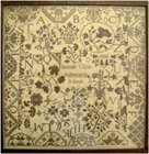 HANNAH GILPIN 1800 by Stitchy Box Samplers