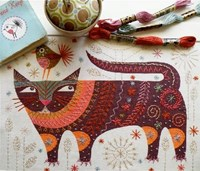 NANCY NICHOLSON STITCH KIT - CAT