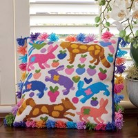 Bunnies and Foxes Tapestry Kit - Kim McLean Designs