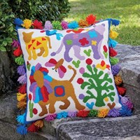 Lions Tapestry Kit - Kim McLean Designs