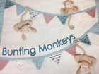 WINDFLOWER - BUNTING MONKEY - Pattern Pack