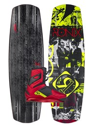 2015 Ronix One Time Bomb Wakeboard with One Boots