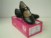 SALE - Katz Black Pu Tap Shoe Size 13.5 and 1 only