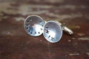 Family equation cufflinks