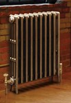 Victorian 660 - 4 Column  Period Cast Iron Radiator In Primer By Carron Radiators at Jig