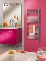 Zehnder Atoll ZSLC Range of Towel Rail Bathroom Radiators in Chrome
